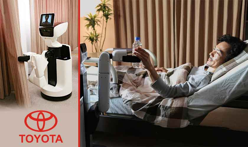 Toyota aims to put robots in every home, probably worldwide too