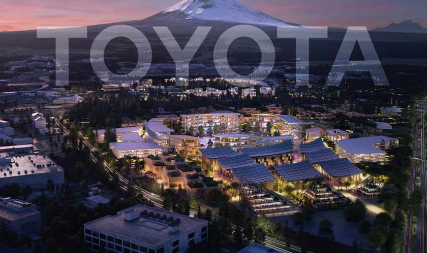 Toyota looking to make the city of the future