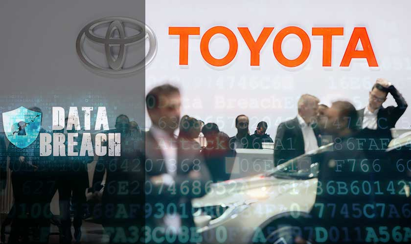 Toyota hit with a second breach within 5 weeks