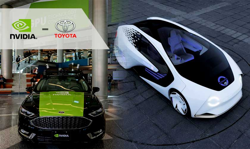 Toyota and Nvidia to test autonomous vehicles in 'virtual world'