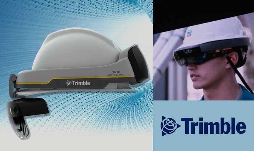 trimble xr10 with builtin hololens
