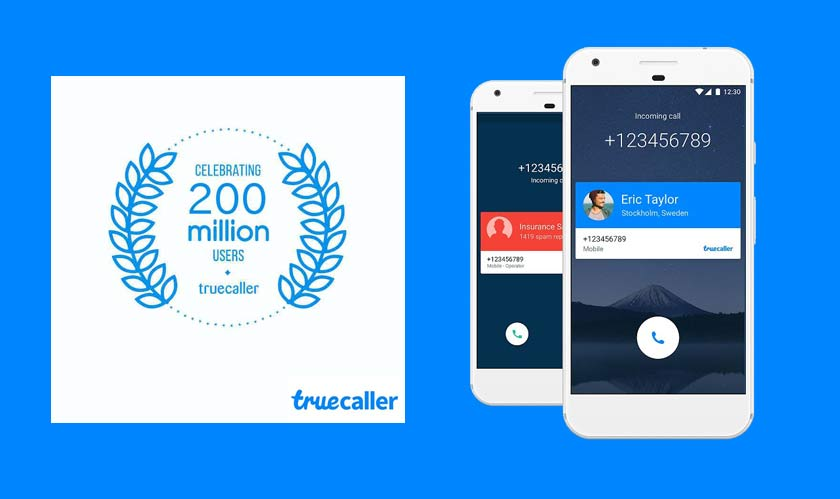 truecaller mobile 200 million users caller id