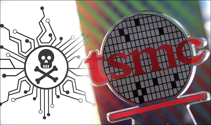tsmc factories virus affect