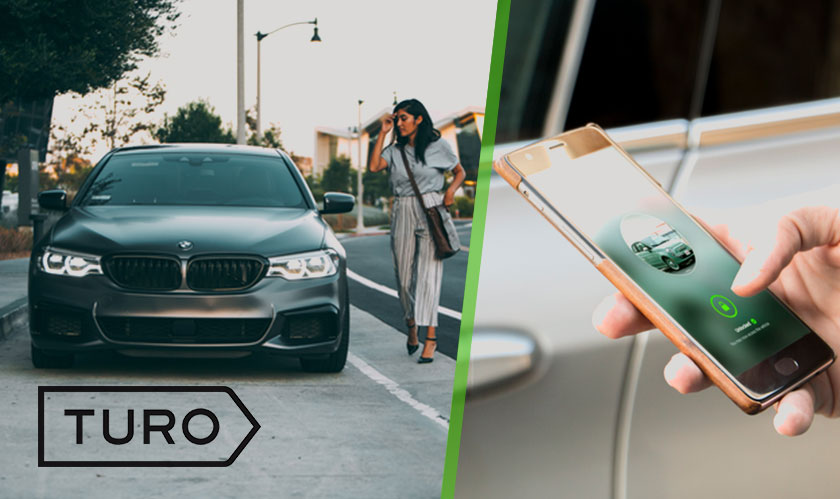 Easily locate and unlock cars using smartphones, with Turo Go