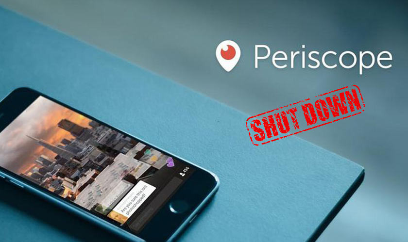 Twitter Announces Shutdown Of Periscope By March