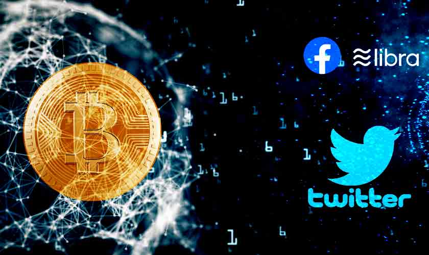 it services twitter facebook libra cryptocurrency