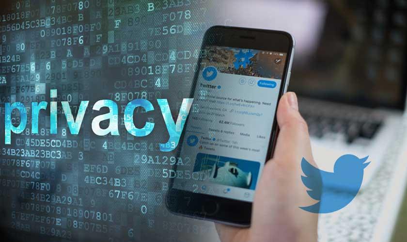 twitter privacy social media