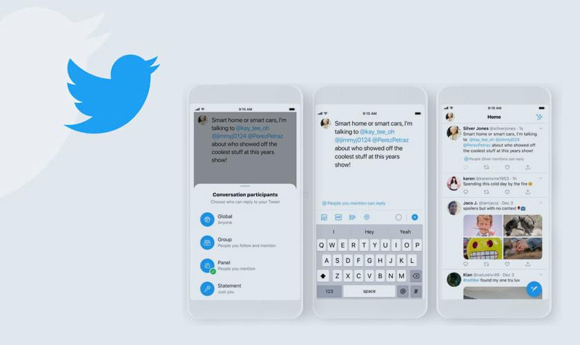 twitter tweets control replies