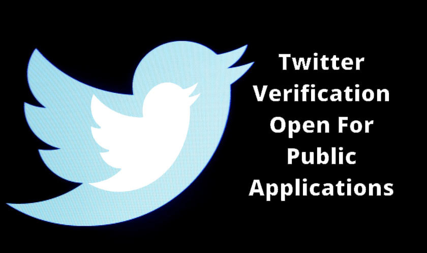 Twitter reopens Account Verification for Public Applications