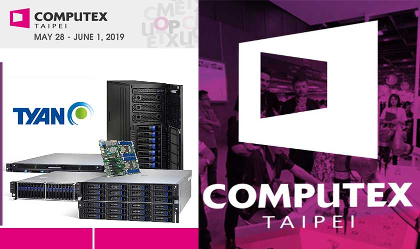 TYAN to showcase its technology at Computex 2019