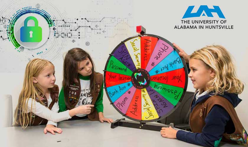 uah girl scouts cybersecurity training