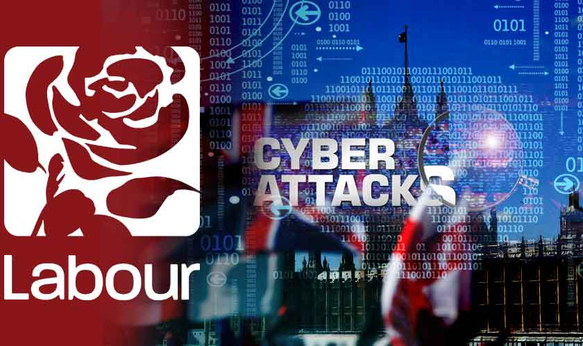 cyber security uk political parties cyberattacks
