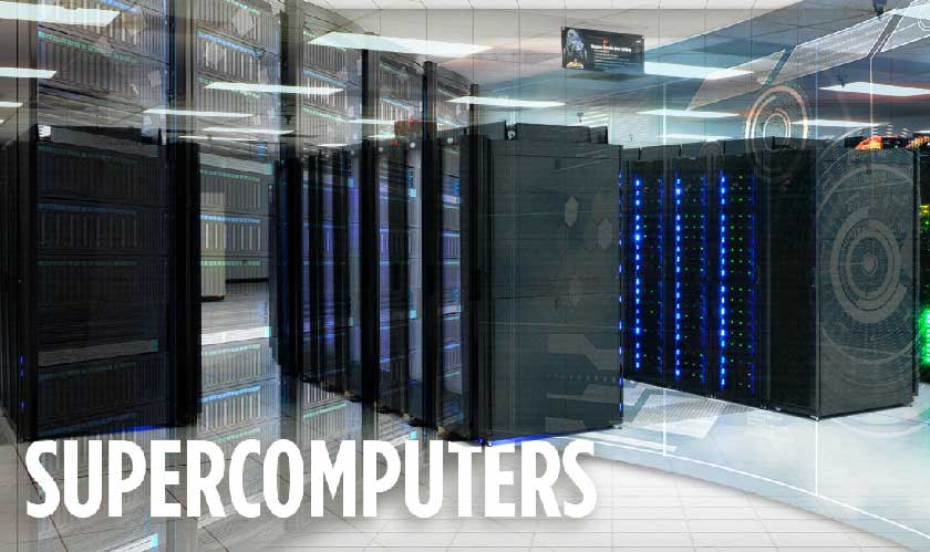 ultra thin storage for supercomputers