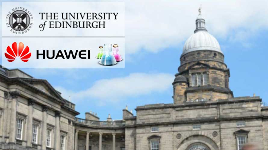 University of Edinburgh teams up with Huawei to launch Joint Data Lab
