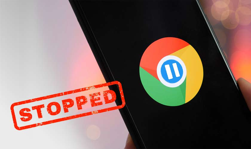 upcoming releases chrome stopped