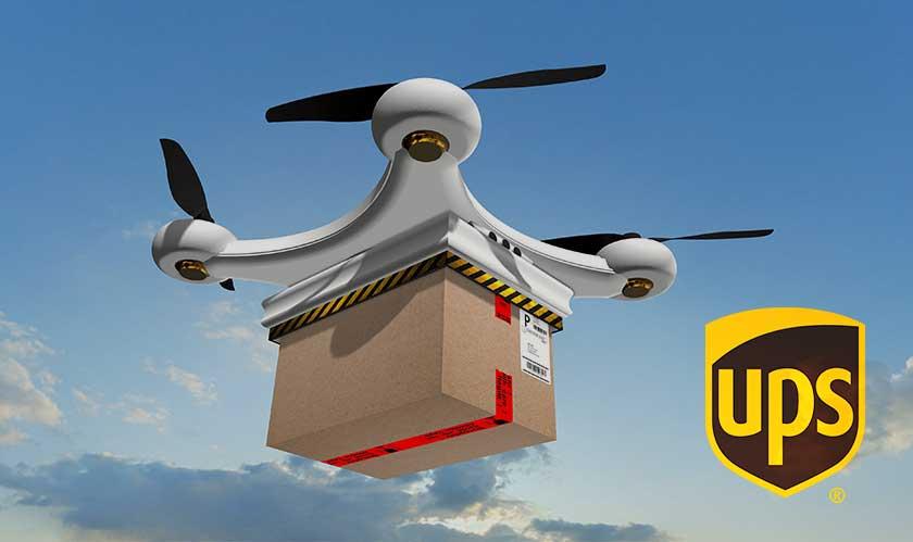 ups matternet drone deliver medicines