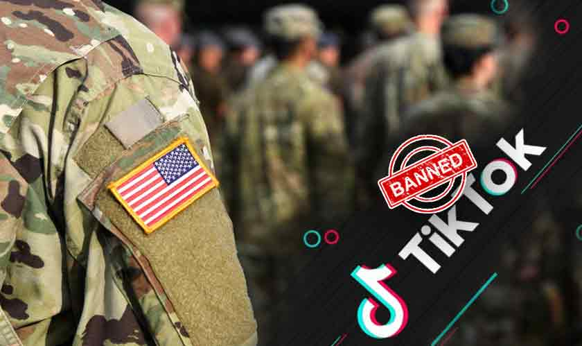 security us army bans tiktok for personnel
