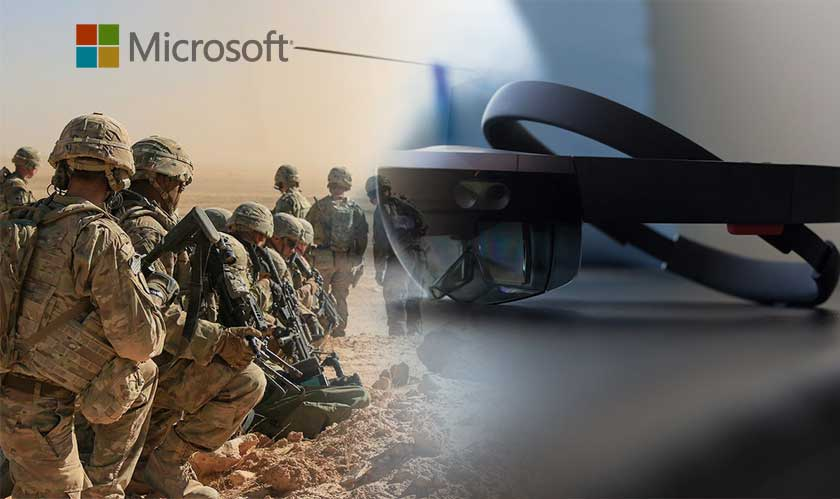 U.S. Army demos its HoloLens plans