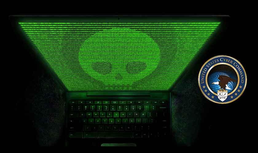 us cyber command russia