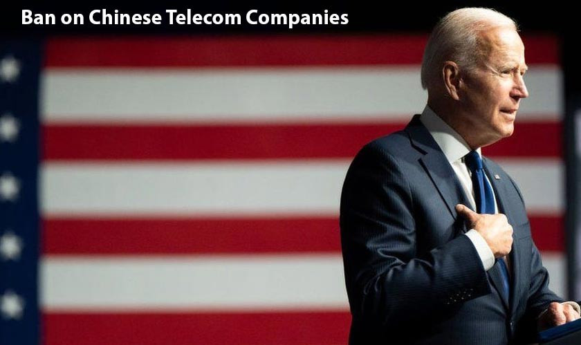 US Government expands ban on Chinese telecom companies