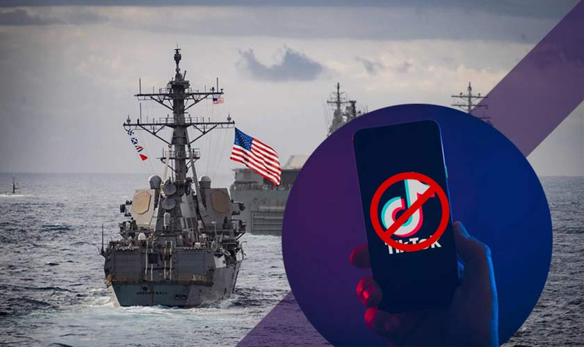 US Navy thinks TikTok is a threat, bans it