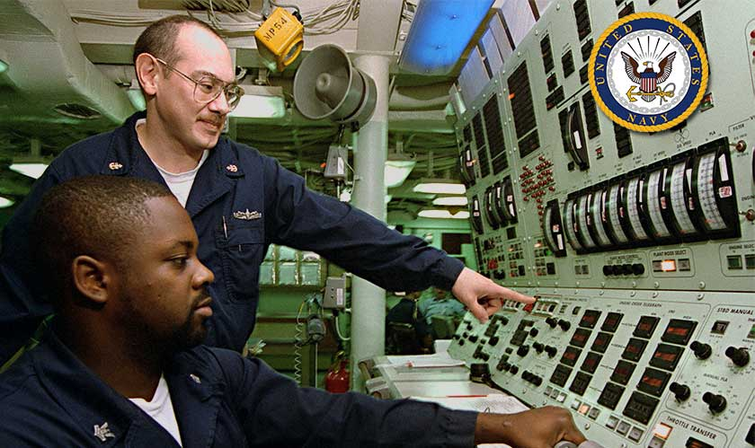 us navy mechanical controls