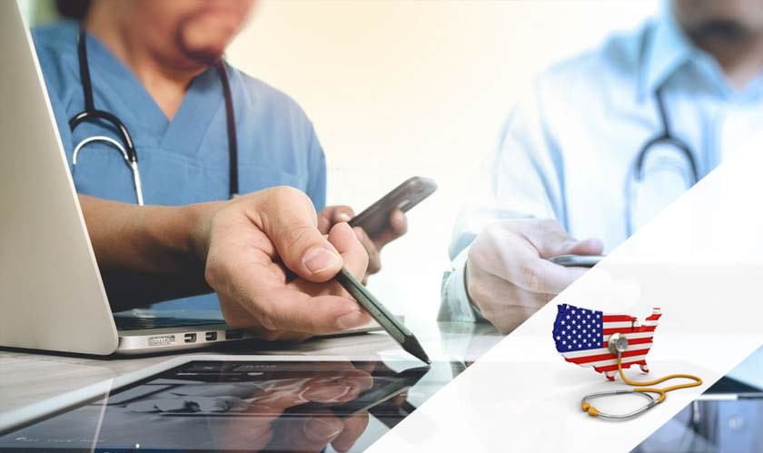 Studies show that US households spend more on healthcare
