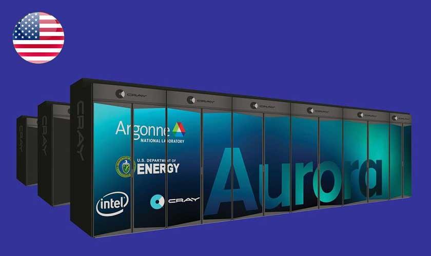 usa exascale supercomputer aurora 2021