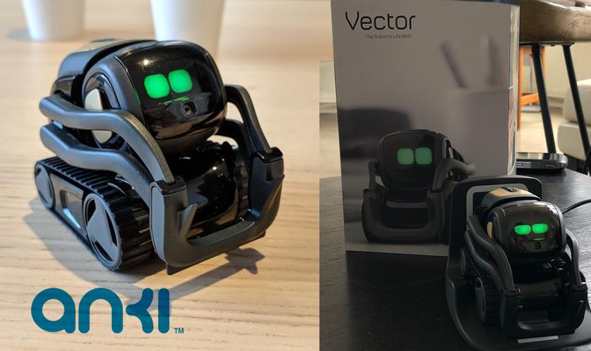 Anki 'kickstarts' Cozmo's successor, the Vector pet robot