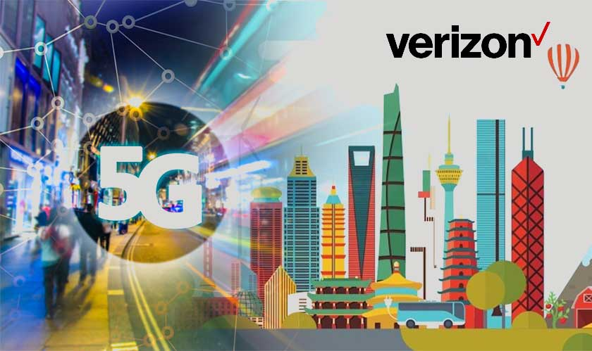 verizon 5g for 20 cities