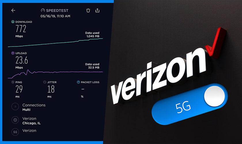 verizon 5g gigabit download speed