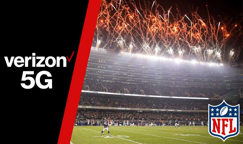 Verizon 5G service is kicking off in 13 NFL Stadiums
