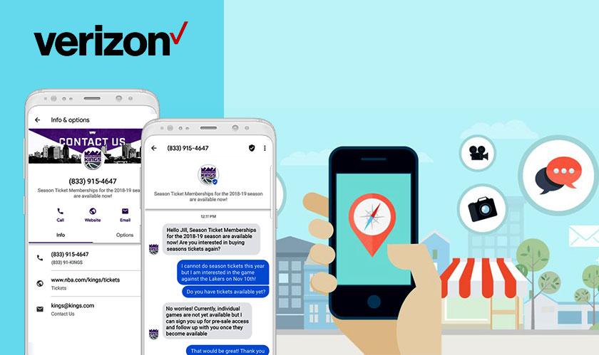 verizon rcs text messaging soon