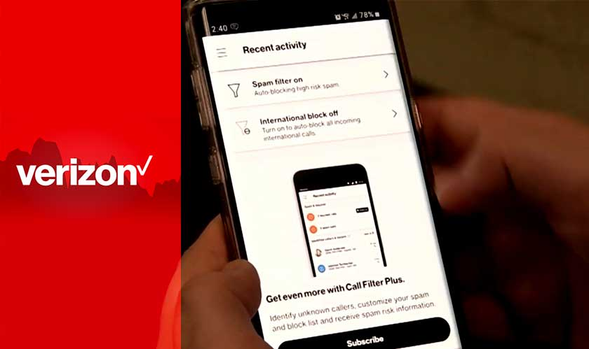 Verizon puts an end to spam calls, enables call filtering