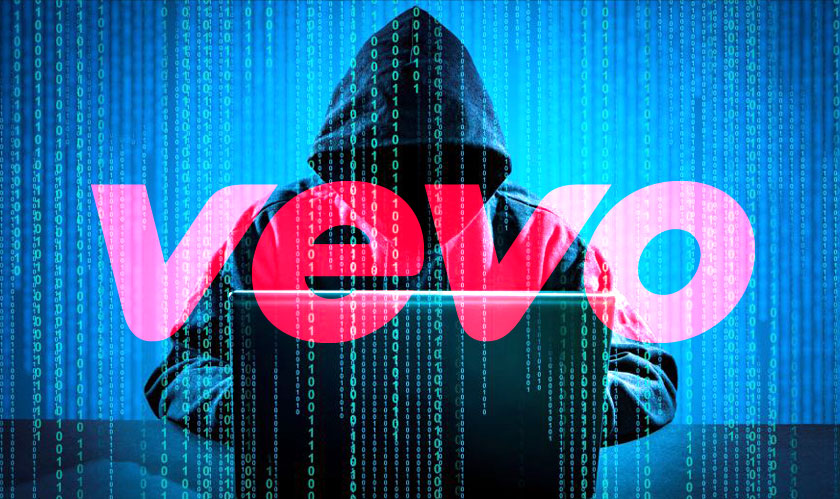Vevo's celebrity dossiers end up on the internet after company rep questions hacker's skills
