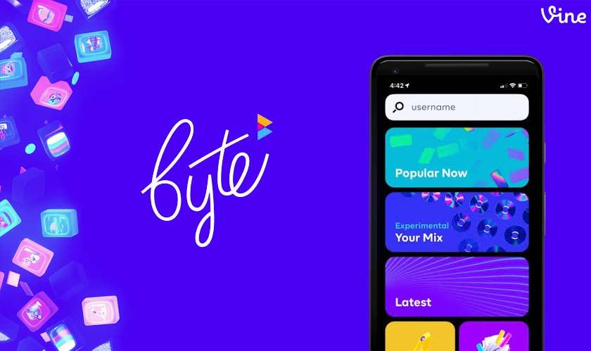 vine launches byte video app