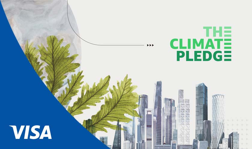 Visa shares its Global Commitment to reach net-zero emissions by 2040