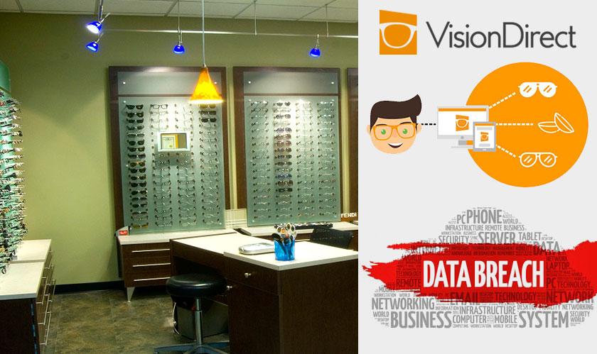 Vision Direct suffers a data breach
