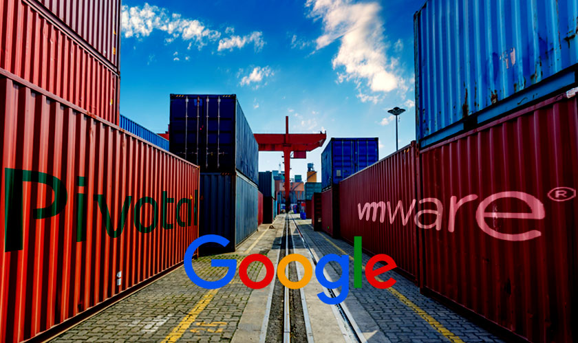 vmware forges container partnership with google and pivotal