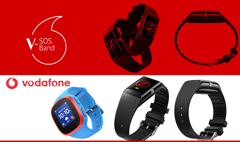 Vodafone enters the IoT market, launches wearable devices