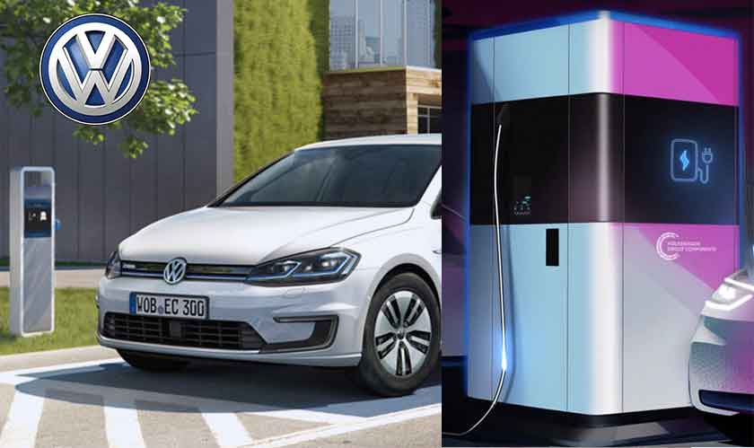 volkswagen charging stations for ev