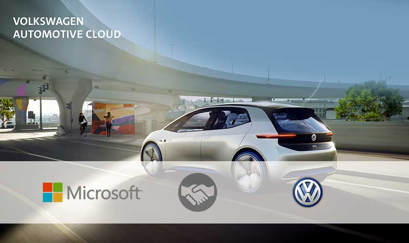 Volkswagen and Microsoft deepen their cloud collaboration