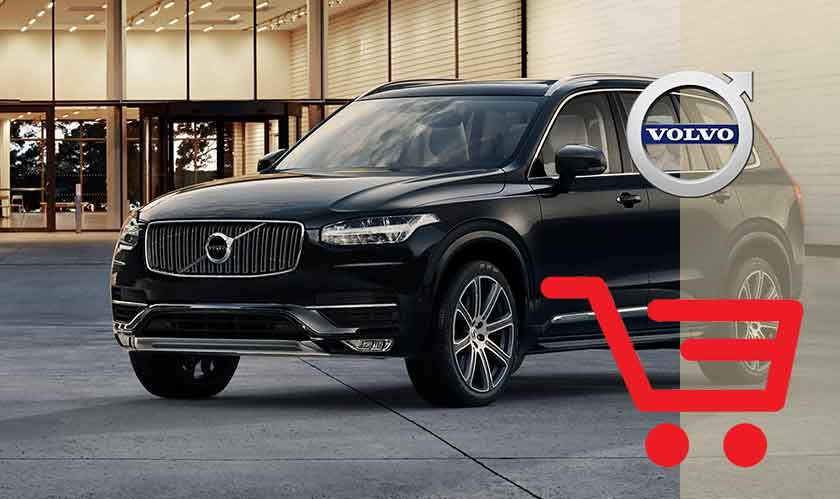 Volvo's line of cars will soon be available online