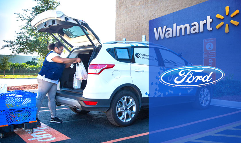 Walmart and Ford collaborate to test self-driving cars for grocery delivery