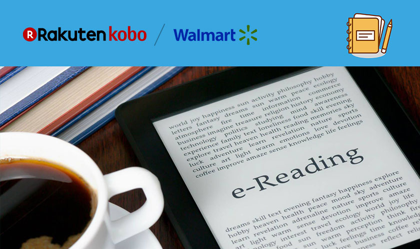 walmart and kobo launches ebooks