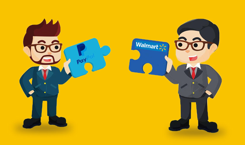 walmart and paypal collaborate