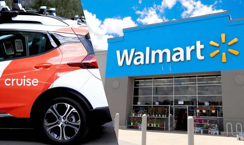 Walmart Working with Cruise for All-Electric Self-Driving Delivery