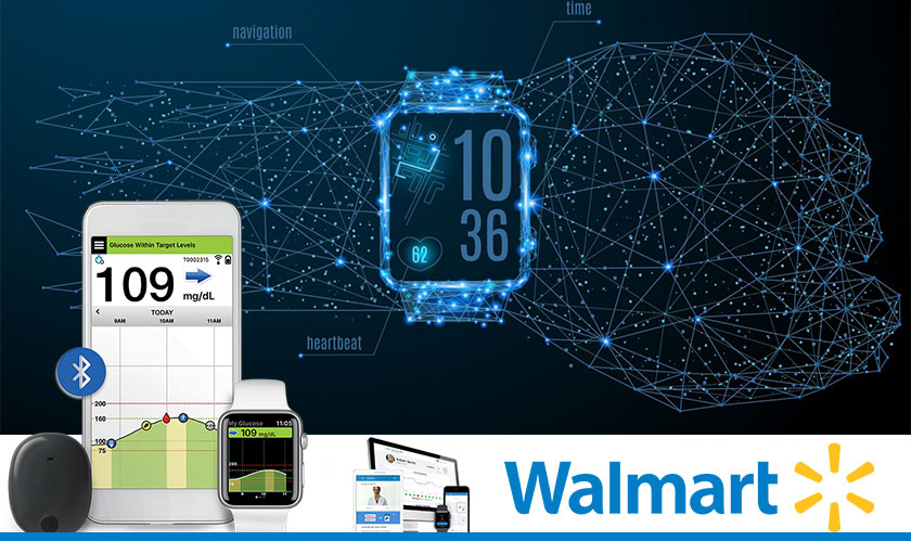 Walmart files Patent for Blockchain, Wearable and EHR