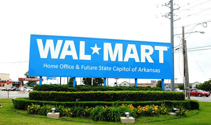 Walmart has a new Headquarters in Bentonville