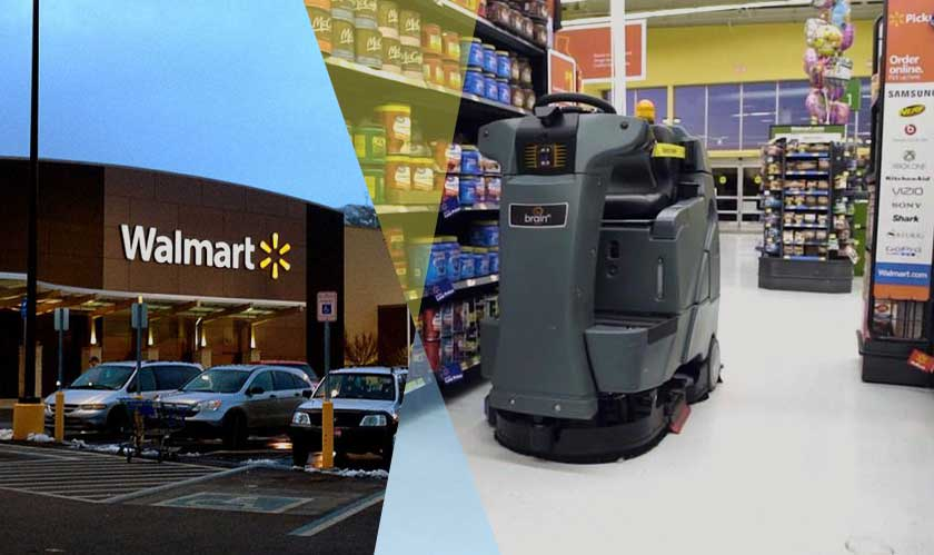 Robots to clean floors and scan inventories at Walmart now